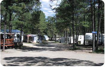 Recreation Village RV and Mobile Home Park - Ruidoso, New Mexico